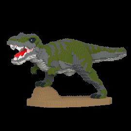 T-Rex furieux vert
