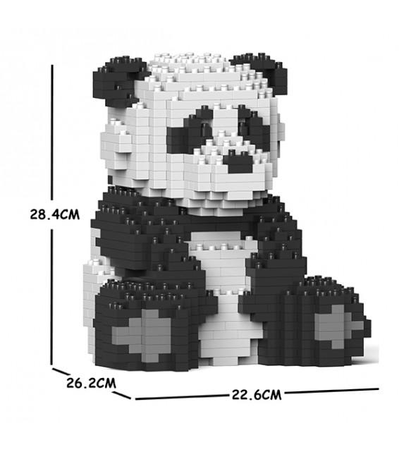 Panda assis grande taille