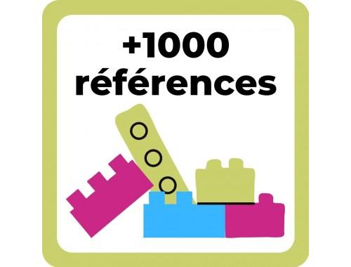 1000 références